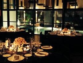 Buffet de flores para la novia en La Ópera Benicasim