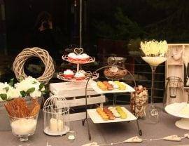 Buffet de pastelería para tu boda